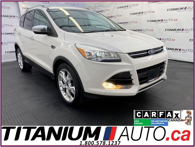 2015 FORD Escape Titanium-4WD-GPS-Camera-Pano Roof-Blind Spot-Leath in London, Ontario
