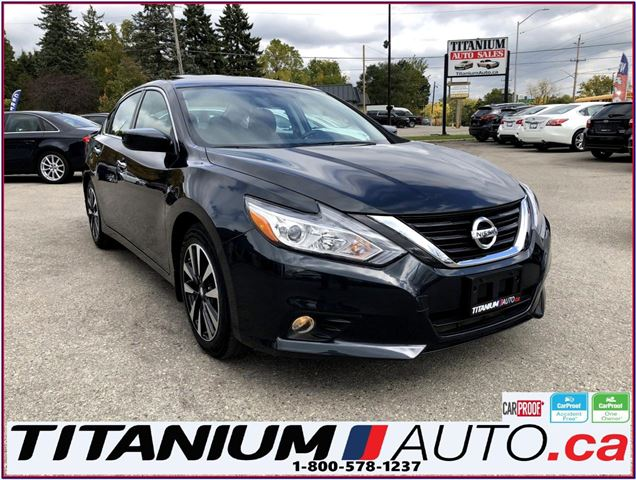 2018 NISSAN Altima SV Camera Sunroof Heated Power Seats Remote Start