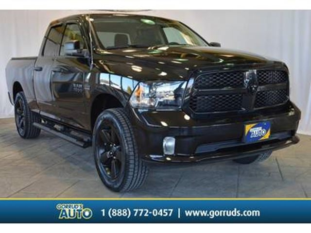 2017 Dodge RAM 1500 EXPRESS QUAD CAB/BLACK PKG/BACK-UP CAMERA/4X4/HEMI in Milton, Ontario