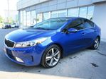 2017 Kia Forte EX Luxury / Leather/ Sunroof/ Blind Spot /Camera in Mississauga, Ontario