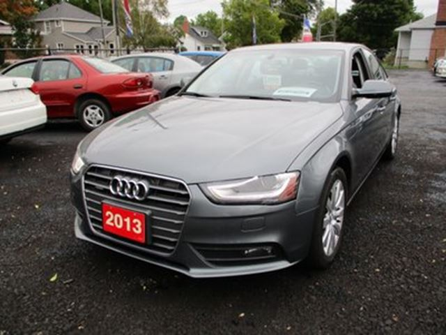 2013 AUDI A4 LOADED ALL-WHEEL DRIVE 5 PASSENGER 2.0L TURBO.. in Bradford, Ontario