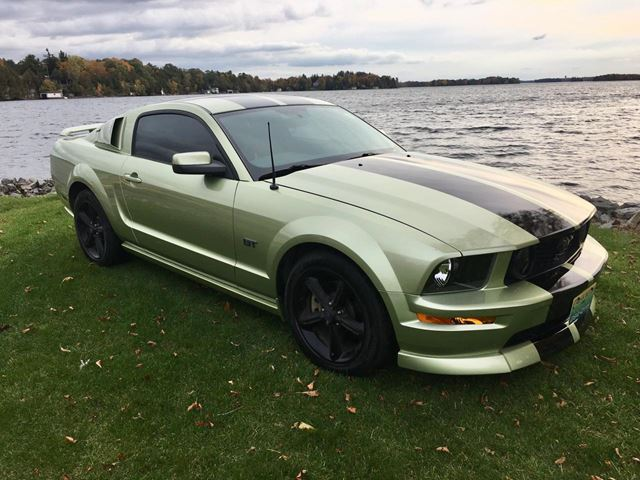 2005 Ford Mustang GT 5 Speed Manual Only 59500 km in Perth, Ontario