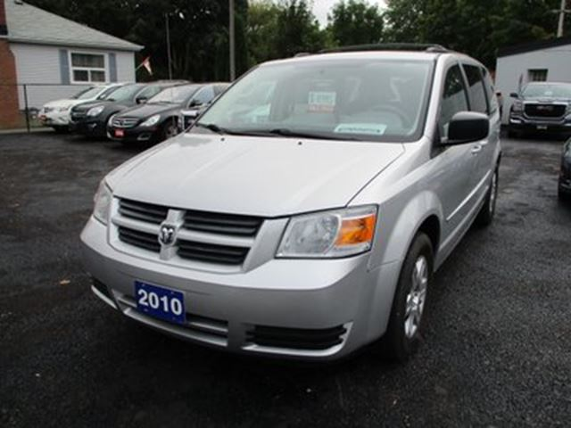 2010 DODGE Grand Caravan FAMILY MOVING SE MODEL 7 PASSENGER 3.3L - V6..  in Bradford, Ontario