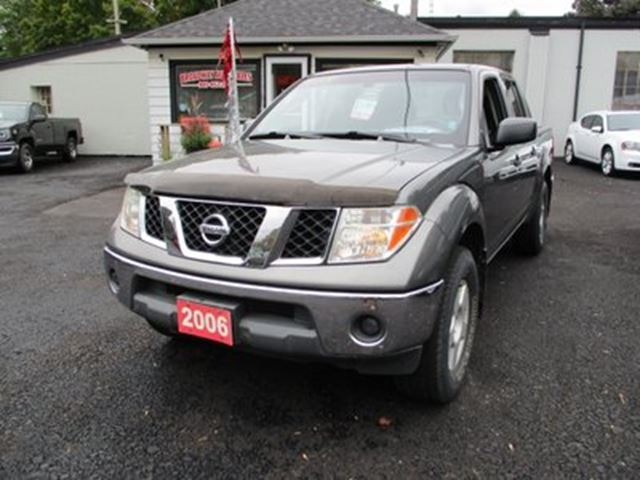 2006 NISSAN Frontier 'GREAT VALUE' 6-SPEED MANUAL SE MODEL 5 PASSENG in Bradford, Ontario