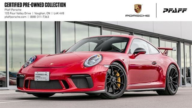 2018 PORSCHE 911 GT3 w/ PDK in Woodbridge, Ontario