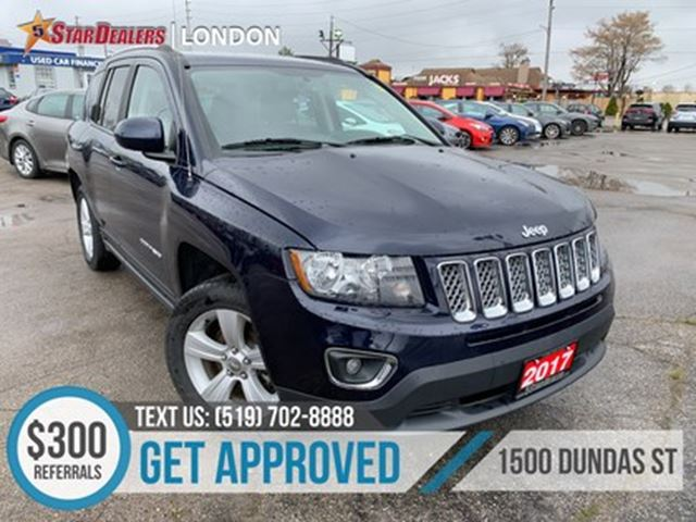 2017 Jeep Compass High Altitude   LEATHER   ROOF   HEATED SEATS in London, Ontario