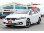 2015 Honda Civic EX BACK UP CAM LANE CHANGE CAM HEATED SEATS in Orangeville, Ontario