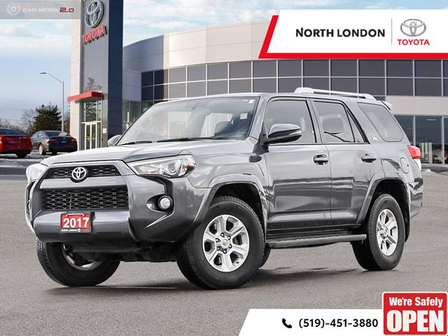 2017 Toyota 4Runner SR5 5000lb Towing Capacity And An Abudence Of Off Road  Features