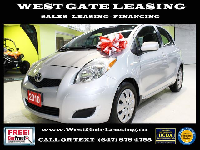 West Gate Leasing >> 2010 Toyota Yaris 4 Door Automatic A C All Power Options