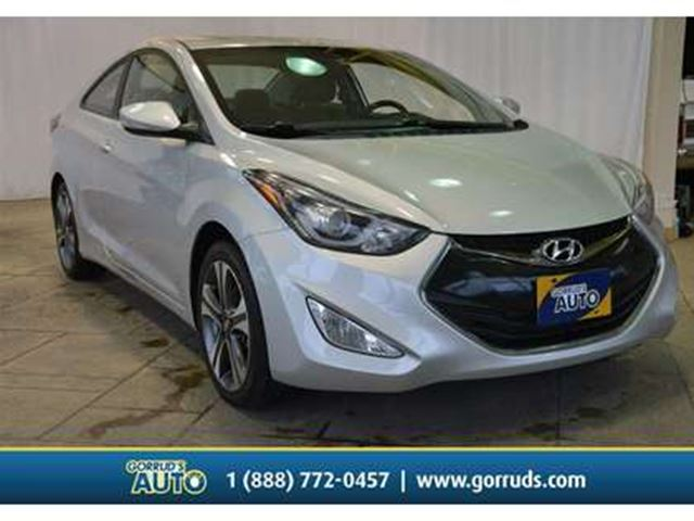 2014 Hyundai Elantra SE/LEATHER/MOONROOF/BACKUP CAMERA in Milton, Ontario