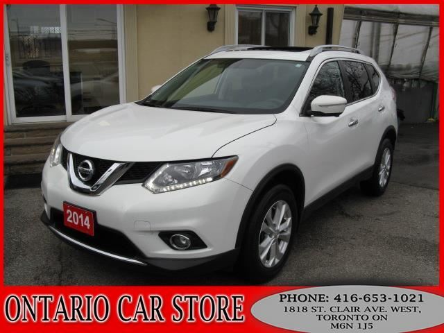 2014 NISSAN Rogue SV AWD SUNROOF !!!1 OWNER NO ACCIDENTS!!! in Toronto, Ontario