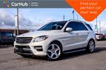 2012 Mercedes-Benz M-Class ML 350 BlueTEC 4Matic Navi Pano Sunroof Backup Cam Bluetooth 19Alloy Rims in Bolton, Ontario