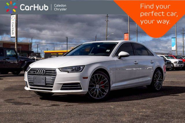 2017 AUDI A4 Komfort Quattro Sunroof Bluetooth Heated Front Seats Leather 17Alloy Rims in Bolton, Ontario