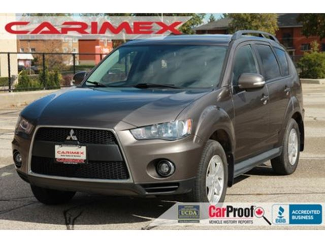 2010 Mitsubishi Outlander LS 7 Passenger    V6   AWD   CERTIFIED in Kitchener, Ontario