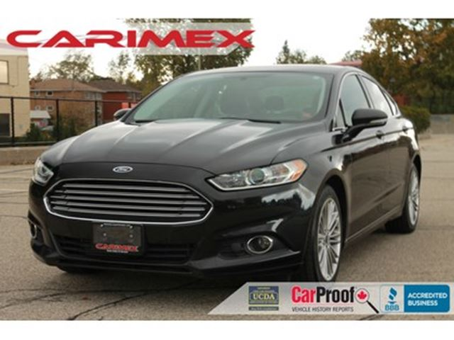 2013 Ford Fusion SE ONLY 68K   AWD   Leather   CERTIFIED in Kitchener, Ontario