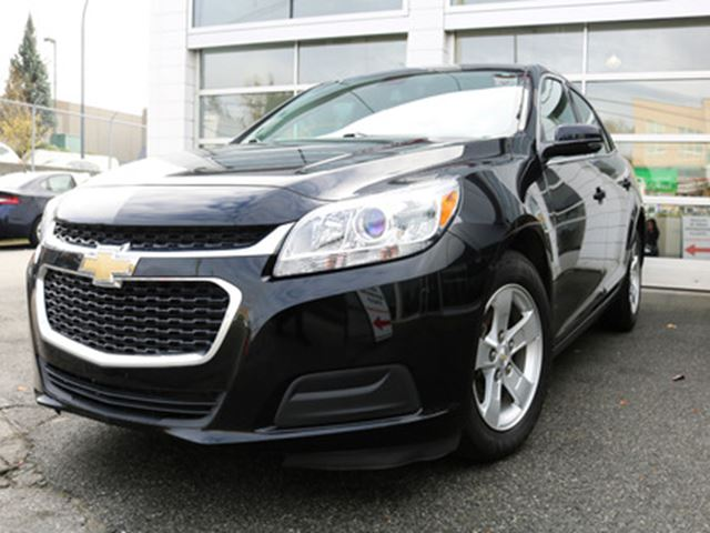 2016 Chevrolet Malibu LT Chevy - Low Rates & Payments Apply Online At Su in Surrey, British Columbia