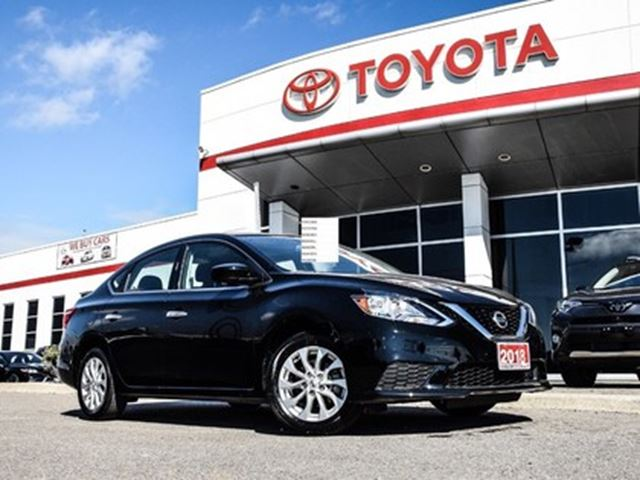 2018 Nissan Sentra 1.8 SV ONE OWNER ACCIDENT FREE in Bolton, Ontario