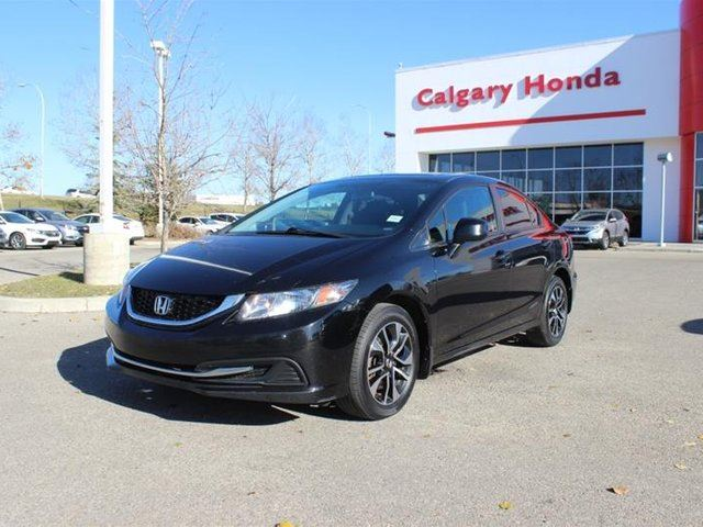 2013 HONDA Civic  Sedan EX 5MT in Calgary, Alberta