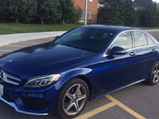 2017 MERCEDES-BENZ C-CLASS C 300 4MATIC ~ Loaded  ~ LOW KM's in Mississauga, Ontario