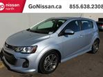 2017 Chevrolet Sonic RS PACKAGE, SUNROOF, PUSH BUTTON,BACKUP CAMERA, ALLOYS in Edmonton, Alberta