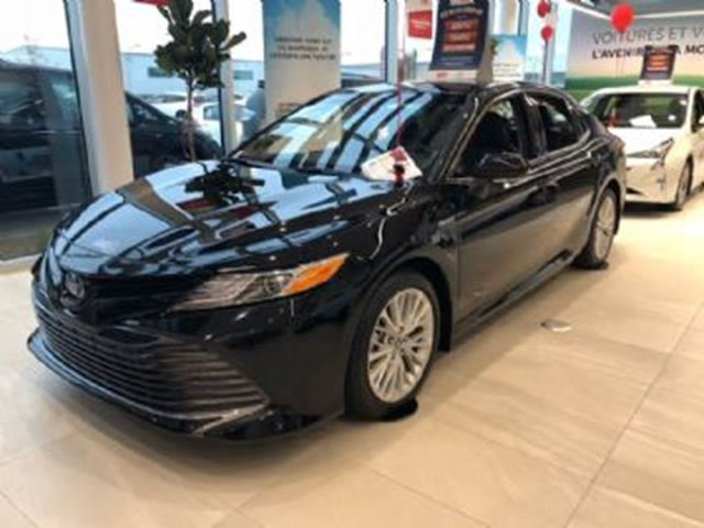 2018 TOYOTA CAMRY Hybrid XLE HYBRID Paint Protective Film in Mississauga, Ontario