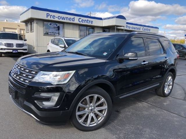 2016 Ford Explorer Limited/AWD/NAV/CAM/ROOF/LEATHER in Burlington, Ontario