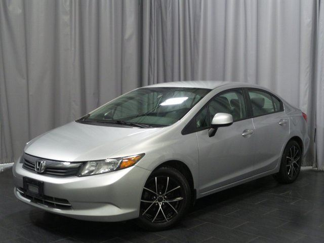 2012 HONDA Civic  LX in Winnipeg, Manitoba