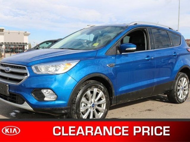 2017 Ford Escape 4WD TITANIUM Accident Free, Navigation (GPS), Leather, Panoramic Roof, Back-up Cam, A/C, - Use in Sherwood Park, Alberta