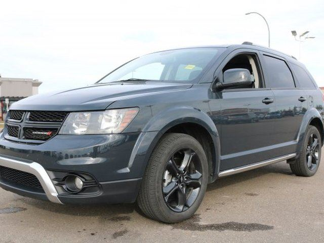 2018 Dodge Journey 4WD CROSSROAD Accident Free, Navigation (GPS), Rear DVD, 3rd Row, Sunroof, A/C, - Used Dodge D in Sherwood Park, Alberta