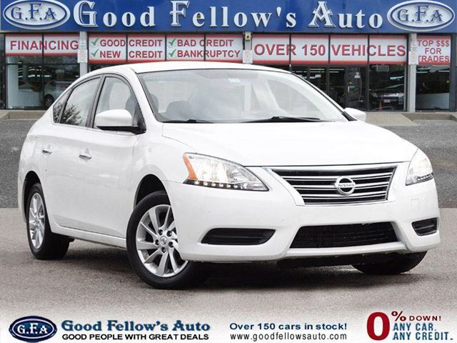 2014 Nissan Sentra SV MODEL, NAVIGATION, SUNROOF, REARVIEW CAMERA in North York, Ontario