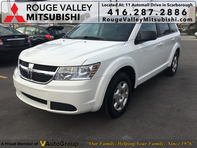 2010 Dodge Journey SE, NO ACCIDENTS, BODY IN GOOD SHAPE !! in Scarborough, Ontario