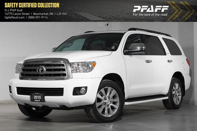 2015 Toyota Sequoia Limited 5.7L V8 in Newmarket, Ontario