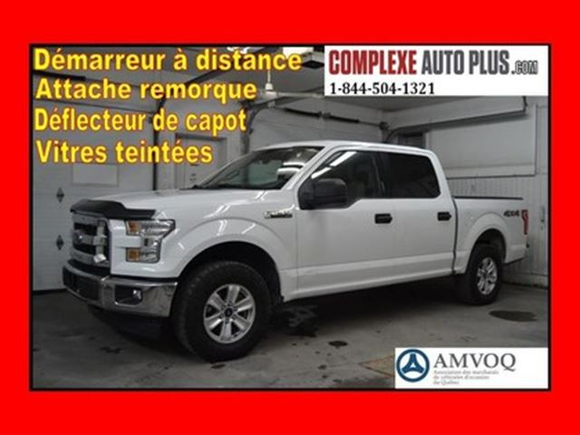 2015 FORD F-150 XLT SuperCrew 4x4 V6 3.5L Crew Cab *Mags, Fogs, Bl in Saint-Jerome, Quebec