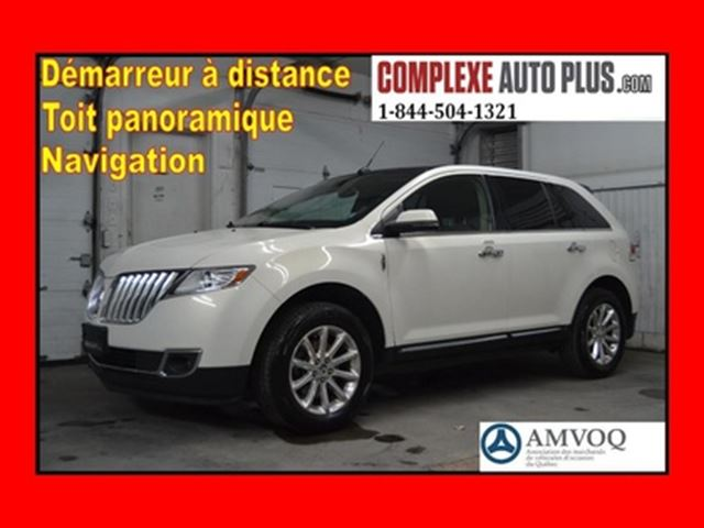 2013 Lincoln MKX AWD 4x4 *Cuir,Toit pano. in Saint-Jerome, Quebec