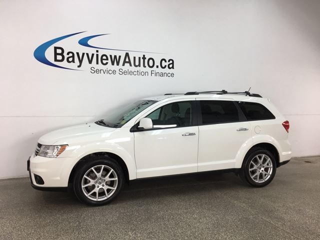 2018 DODGE JOURNEY GT - 7 PASS! REMOTE START! 3 ZONE CLIMATE! HTD LTHR! ALPINE SOUND! in Belleville, Ontario