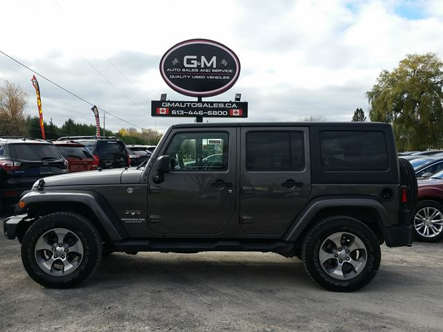 2016 Jeep Wrangler Unlimited Sahara for sale