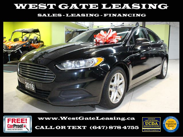 West Gate Leasing >> 2016 Ford Fusion Se Bluetooth Camera Accident Free Black