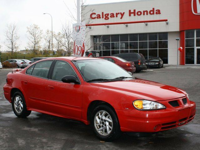 2004 pontiac grand am se1 red calgary honda. Black Bedroom Furniture Sets. Home Design Ideas