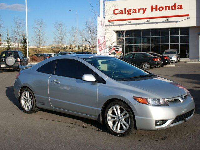 2006 honda civic 2 0 si silver calgary honda. Black Bedroom Furniture Sets. Home Design Ideas