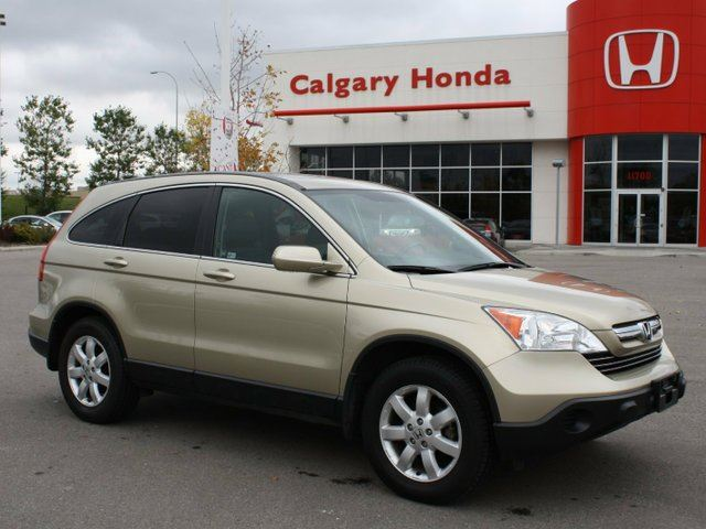 2007 honda cr v 2 4 ex l 4wd auto beige calgary honda. Black Bedroom Furniture Sets. Home Design Ideas