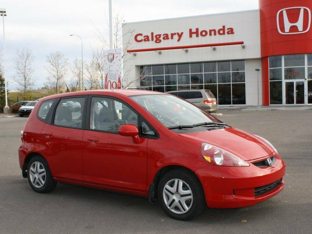 2007 honda fit limited sport utility 4d red calgary. Black Bedroom Furniture Sets. Home Design Ideas
