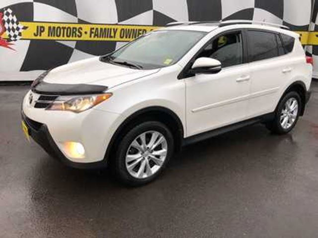 Toyota Spin Card >> 2013 Toyota Rav4 Limited Auto Navigation Leather Awd White For