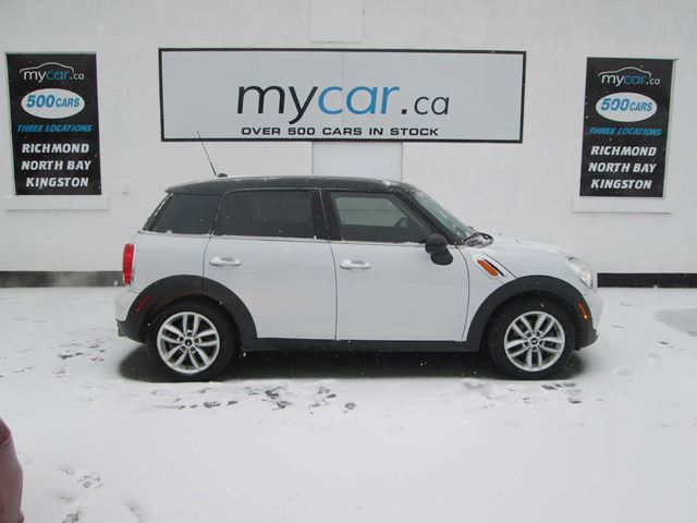 My Car North Bay >> 2012 Mini Cooper Countryman Sunroof Power Group Mini Fun