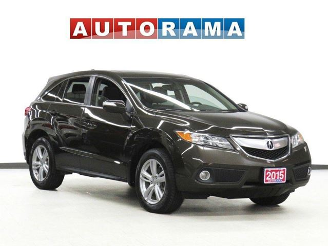 2015 Acura RDX Tech Pkg AWD Navigation Leather Sunroof Backup Cam in North York, Ontario