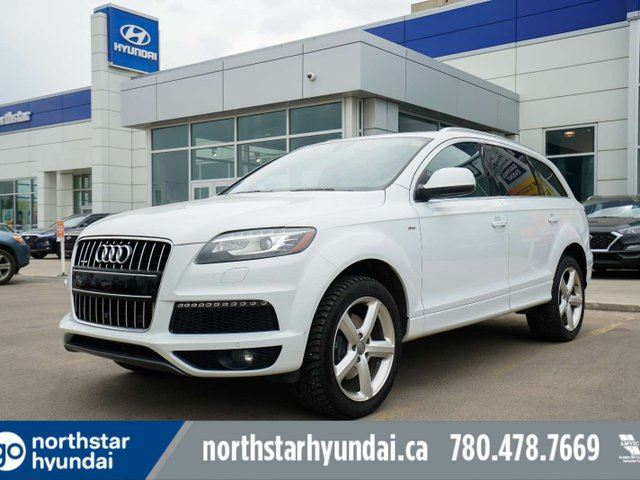 2015 Audi Q7 VORSPRUNG 7PASS/NAV/LEATHER/SUNROOF in Edmonton, Alberta