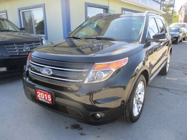 2015 Ford Explorer LOADED LIMITED EDITION 7 PASSENGER 3.5L - V6..  in Bradford, Ontario
