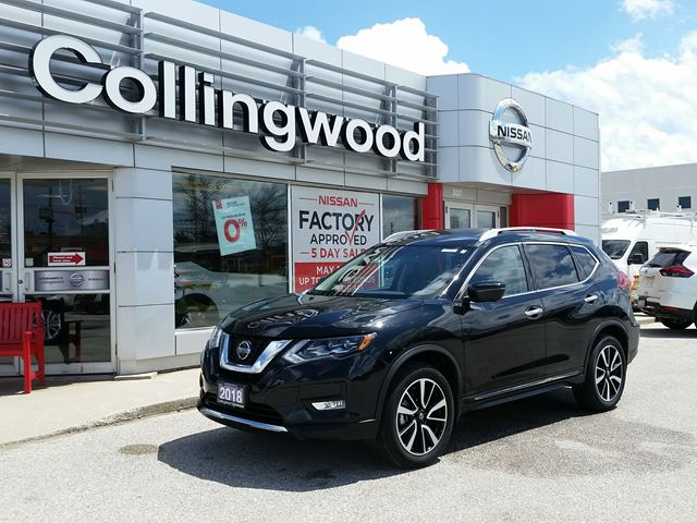 2018 Nissan Rogue SL Platinum Reserve *CORP DEMO* in Collingwood, Ontario