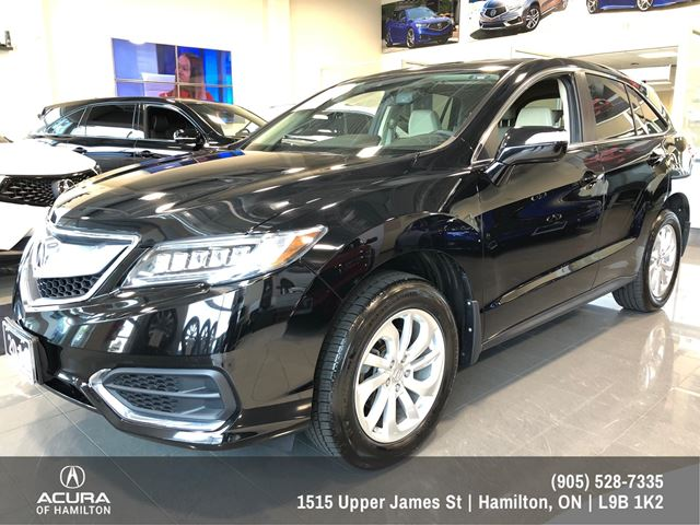 2016 Acura RDX one owner dealer serviced, Navigation, in Hamilton, Ontario