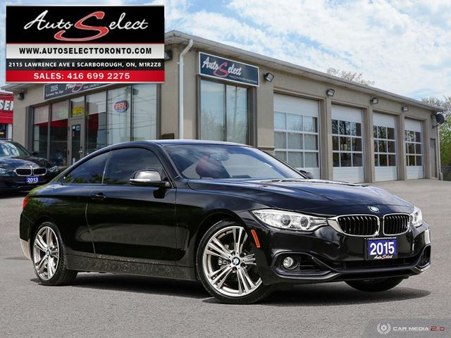2015 BMW 4 Series ONLY 114K! **6 SPEED** SPORT PKG **CLN CARPROOF** in Scarborough, Ontario