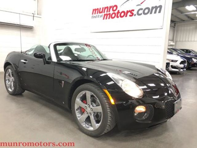 2008 Pontiac Solstice GXP Leather Chrome Wheels 260 HP in St George Brant, Ontario